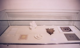 Marion Smith - Corpus - Display Case Showing Research Material
