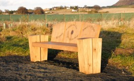 Marion Smith - Loch Leven - Carshall Bog seat